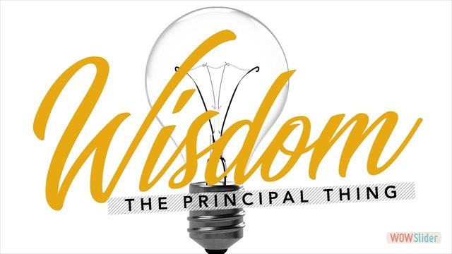 The Principal Thing